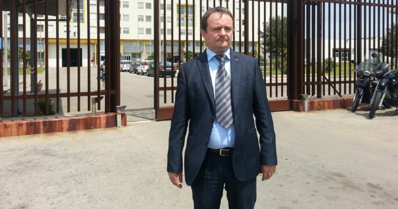 Molestie in carcere Campobasso Aldo Di Giacomo