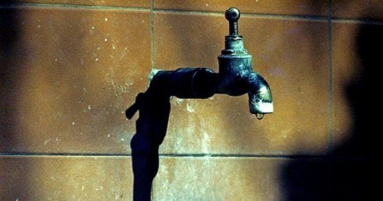 rubinetto senz'acqua