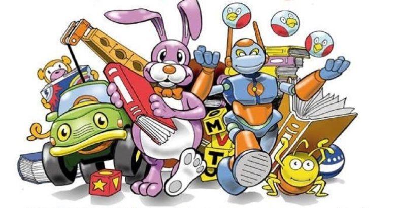 Giocattoli e libri in moVimento, raccolta di giocattoli e libri usati. Iniziativa promossa dal M5S