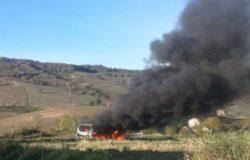Pullman a fuoco Casacalenda