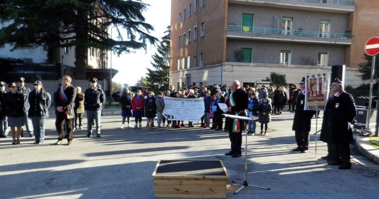 Campobasso, Piazza Savoia, Piazza Falcone e Borsellino, sindaco Battista