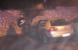 Fornelli, Auto in fiamme, in corso accertamento dei Carabinieri