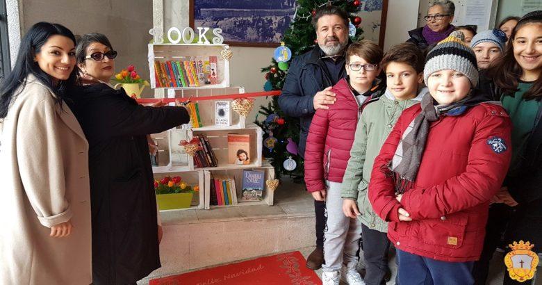 Montenero di Bisaccia - Io leggo in villa, inaugurata questa mattina la libreria solidale