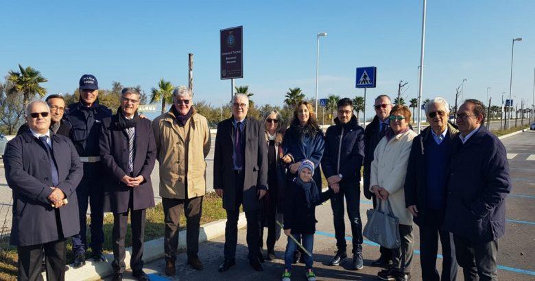 SEGNALETICA - Nuovi cartelli stradali inaugurati a Termoli. Donati dal Lions Club Host