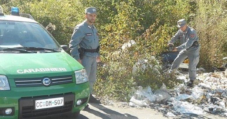 ISERNIA - Abbandono di scarti domestici, 600 euro di multa ad una donna