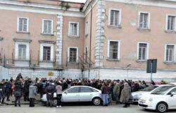 TENTATA EVASIONE - Aldo Di Giacomo Protesta trasferita a Roma, richiesta ritiro immagini