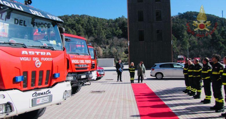 VIGILI DEL FUOCO, Isernia, Prefetto Guercio, visita istituzionale, sede centrale del Comando
