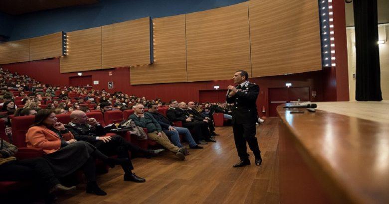 conferenza Carabinieri auditorium isernia