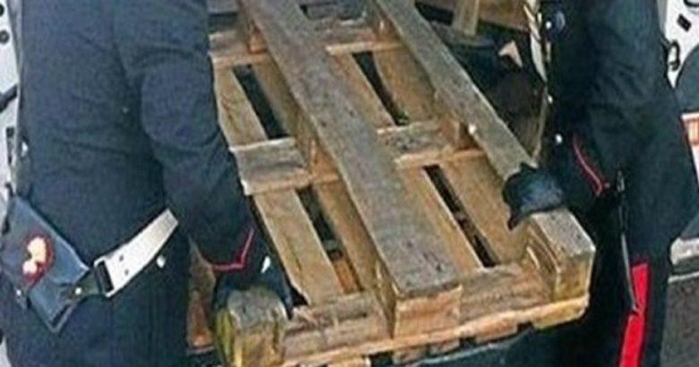 furto pedane in legno