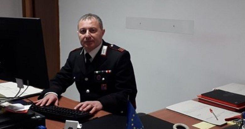 nuovo comandante, Carabinieri, Colletorto, Francesco Pellegrino