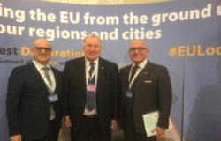 COMITATO EUROPEO delle REGIONI - Vertice Bucarest, Toma «La nuova Unione europea parte dai territori»