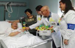 EVENTO - Festa della donna in corsia, l'ospedale di Isernia si è tinto di giallo