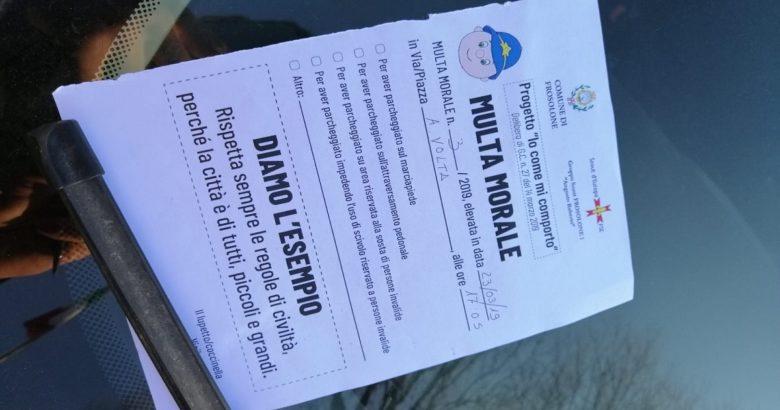 FROSOLONE - Multa Morale, gli Scout sanzionano gli automobilisti indisciplinati