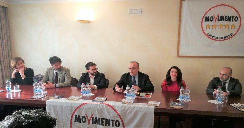 ISERNIA - Visita a sorpresa del ministro per i beni e le attività culturali Bonisoli