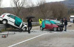 Incidente stradale Bifernina strage 5 morti