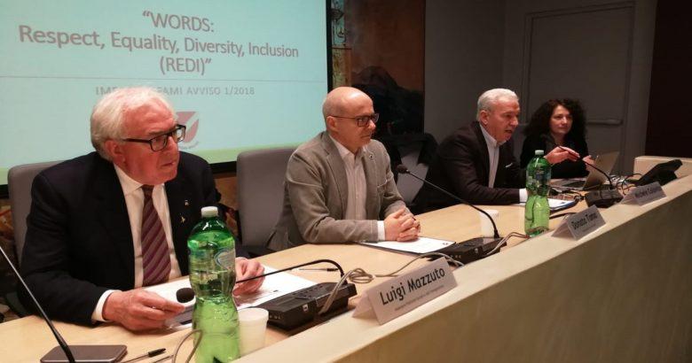 """REGIONE, molise, Words Respect Equality Diversity Inclusion REDI"""", integrazione stranieri, Palazzo Vitale"""