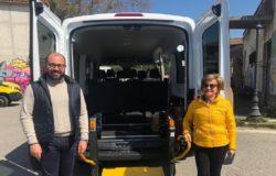 VENAFRO - Nuovo servizio di trasporto per soggetti svantaggiati e diversamente abili