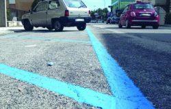 strisce blu isernia