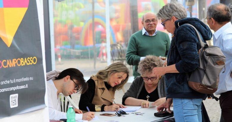 COMUNALI, Campobasso, Io amo Campobasso, sindaco, Paola Liberanome, candidati consiglieri