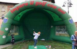 ISERNIA - Il golf scende in piazza