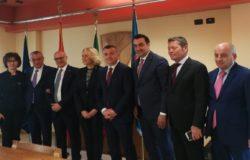 REGIONE - Palazzo Vitale, visita istituzionale di una delegazione albanesev