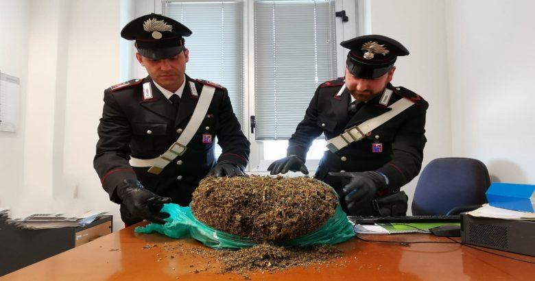 termoli - Tre chili di marijuana, due pregiudicati in manette. Trovati in casa anche 30mila euro di refurtiva