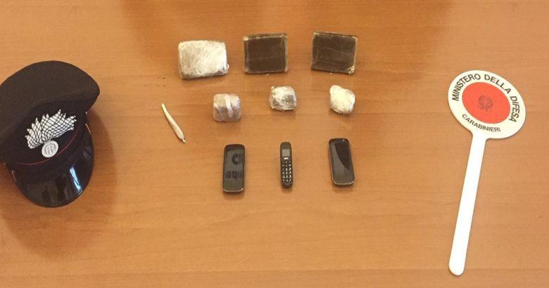 Campobasso, droga, telefoni cellulari, carcere, arrestato 45enne