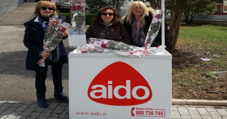 DONAZIONI ORGANI - Giornata della rosa, l'AIDO in piazza