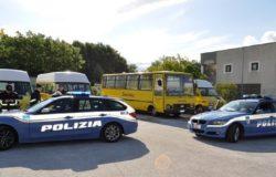 ISERNIA - Controlli serrati agli scuolabus e agli altri mezzi di trasporto, fermo amministrativo per un autobus di linea