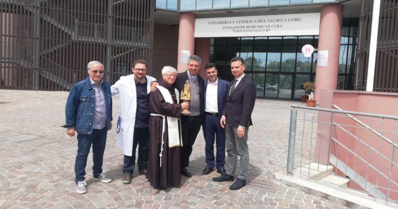 reliquario, Madonna delle lacrime, Campobasso, Cattolica