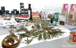 Cannabis light, controlli nei negozi della città denunciate 8 persone