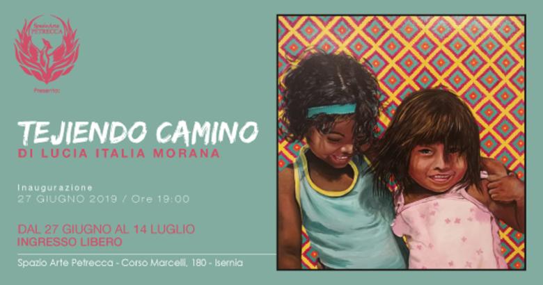 ISERNIA - Tejiendo Camino, esposizione d'arte contemporanea alla Galleria di Corso Marcelli