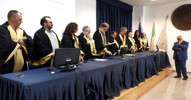 UNIMOL - Scienze turistiche, il primo laureato nella sede di Termoli