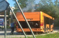 bus a fuoco campobasso