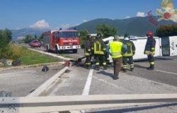 CRONACA - Incidente sulla SS 85 Venafrana, traffico in tilt