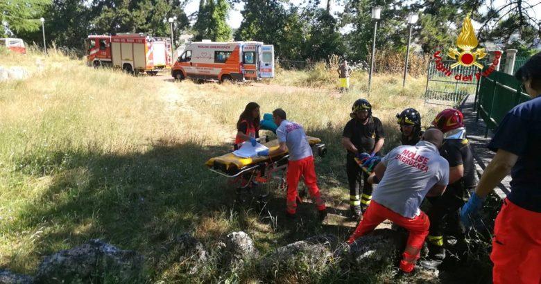 CRONACA - Scivola o casca dalla collina Monforte, 56enne muore in opedale
