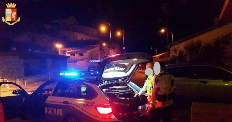 """ISERNIA - Notte di controlli per una """"movida"""" più sicura tre persone positive all'alcoltest, di cui uno anche alle sostanze psicotrope"""