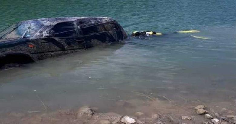 auto rubata montaquila riemersa lago bomba