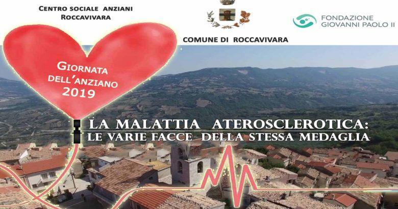 """ROCCAVIVARA - """"Giornata dell'Anziano"""", appuntamento annuale dedicato alla cultura della salute e della prevenzione"""