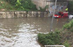 ISERNIA, Bomba d'acqua, città, situazione difficile