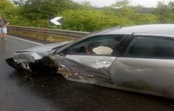 Forte pioggia, Isernia, incidente stradale, due feriti