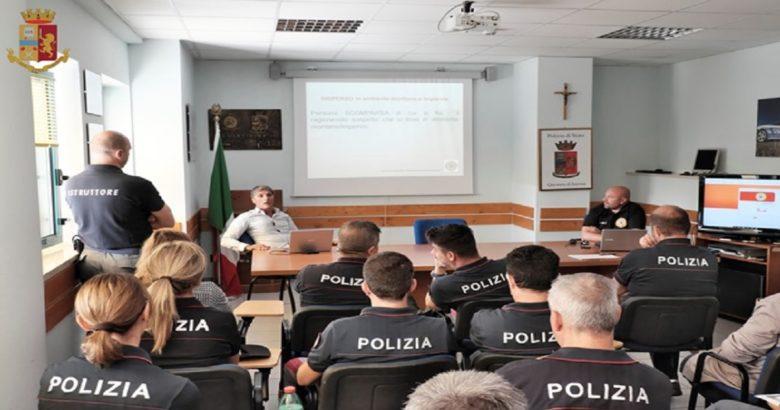 ISERNIA - La Polizia di Stato a lezione con gli esperti del Corpo Nazionale Soccorso Alpino e Speleologico