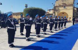 Polizia penitenziaria Venafro anniversario 202 castello pandone