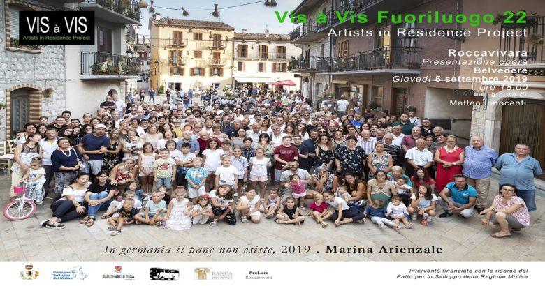 VIS A VIS FUORILUOGO - Due artiste si stabiliscono un mese in Molise per raccontarlo attraverso le opere