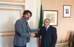CAMPOBASSO - Il Questore Caggegi va in pensione. Incontro a palazzo San Giorgio con il sindaco Gravina