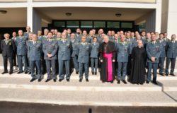 GUARDIA di FINANZA - Visita pastorale dell'Ordinario militare S.E. Santo Marciano