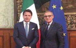 Premier Conte sindaco isernia d'apollonio