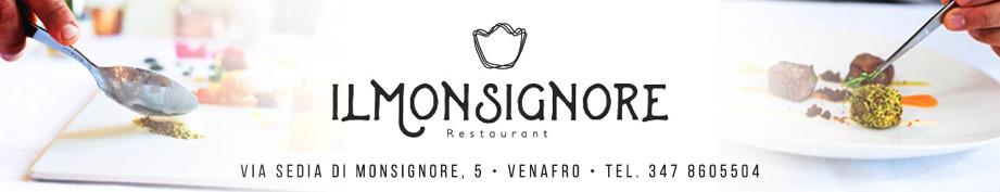 ristorante il monsignore venafro