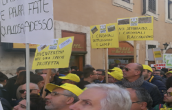 EMERGENZA CINGHIALI - Sindaci molisani a Roma con la Coldiretti