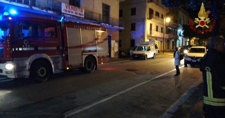 VENAFRO - Rischio esplosione, stabile saturo di gas evacuati gli inquilini